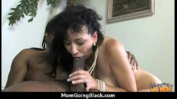 mature mom barely takes 10 inch black cock 28