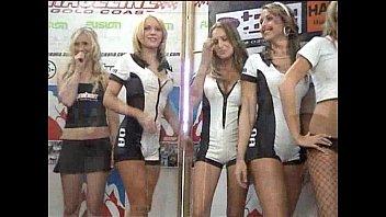 promotion girls car show