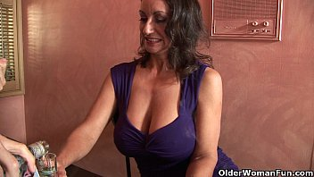 busty milf persia monir gets a.