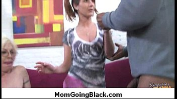 milf get black cock in her tight mature.