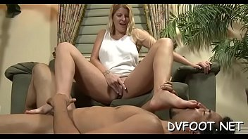hot feet licked and played