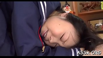 unfathomable anal fucking and toying for adorable asian beauty