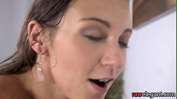 busty euro orgasms while assfucked by.