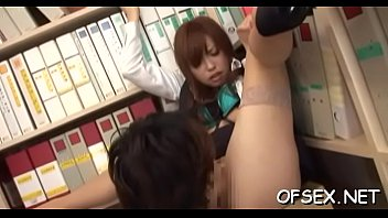 office workers manhandle and gang bang young delicious chick