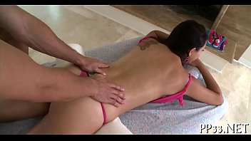 oil massage with wet blow job