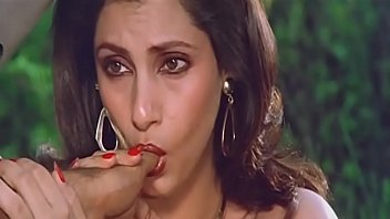 sexy indian actress dimple kapadia sucking thumb lustfully.