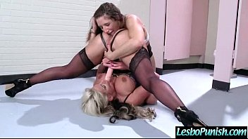 lez mean girl punish hot sexy lesbian with.