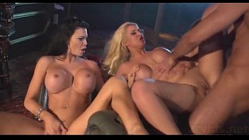 lucky guy with horny busty girls