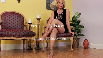 time to tease with goddess brianna