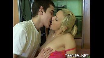 horny boy licks hot clit