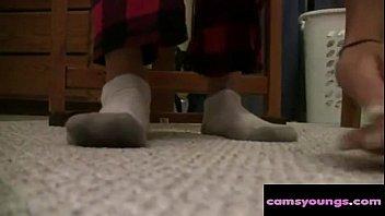 webcam girl socks &amp_ feet, free amateur hd.