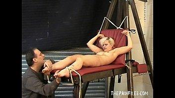 foot fetish and extreme bastinado foot bondage of.