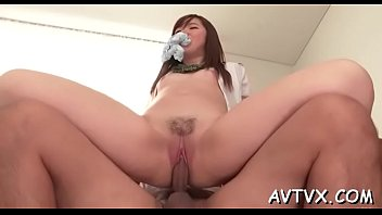 toying a lascivious japanese cum-hole