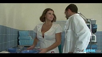 big tit nurse fucked in hospital.