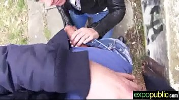 sex on cam outdoor with sluty hot euro.