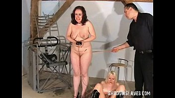 two slavegirls electro shock tortured and enduring extreme.