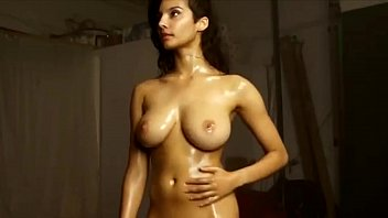 british indian model shanaya naked playing with her.
