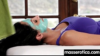 sensual oil massage turns to hot lesbian action 2