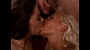 facial and cumswapping hot blonde and brunette, helen duval
