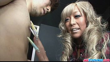 stunning and gorgeous blond babe rina aina gagging.
