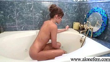solo cute amateur teen girl  play with.