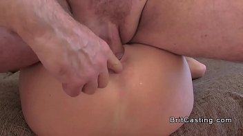 green haired amateur anal fingered in.