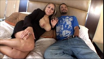 mature latina mom banging younger black cock in.
