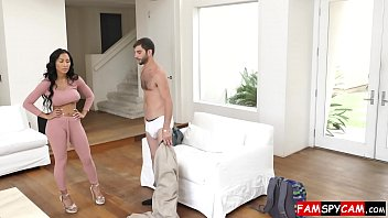 step sister surprised by her virgin brother&#039_s big cock