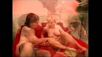 lesbian grannies kissing and licking each.