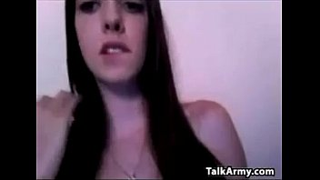 pretty cam girl shows off her.