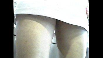 white panties upskirt 40