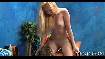 lusty girl gets giant facial