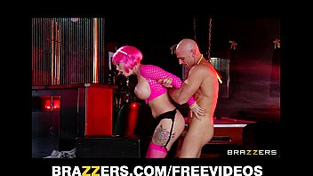 big-tit pink goth girl is fucked fast and.