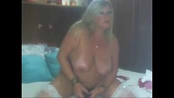 blonde mature on webcam - more.