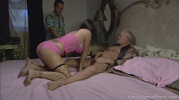 older guys enjoy a young horny.