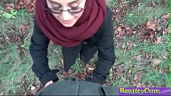 afghan beauty gives forest blowjob(yasmeena) 02.