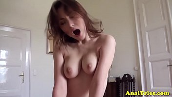 anal fucking girlfriend pounded by hard.
