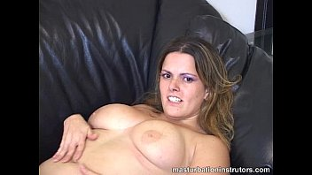 hot and sweet big titted jerk off instructor.
