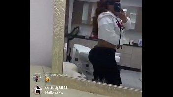 instagram live nipple slip 2