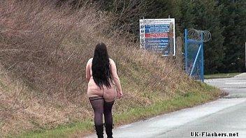 fat amateur flasher emmas public exhibitionism and voyeur.