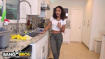 bangbros - young teen latina maid nicole bexley.