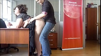 horny bbw milf fucked at the office by.