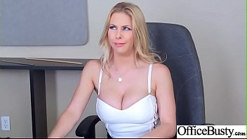 office sluty girl (rachel roxxx) with big round.