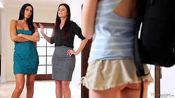 mommy india summer and nikki daniels helps step-daughter.