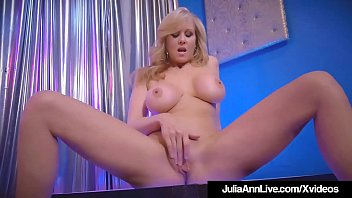 stripper milf julia ann slides up &amp_ down.