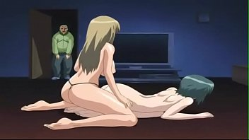 hot anime sex son fucks mom and sister.