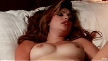 sweet girl fingering herself in bed