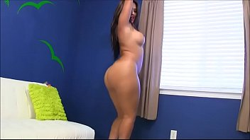 sexy brunette big ass naked dancing - watch.