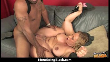 huge black meat going into horny.