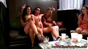 cfnm amateur party girl sucks stripper.